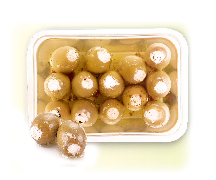 Оливки с сыром Фета 240г Греко