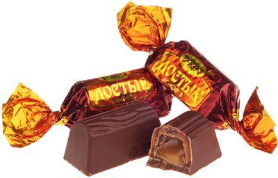 Конфеты шоколадные Достык 500г Рахат, Казахстан