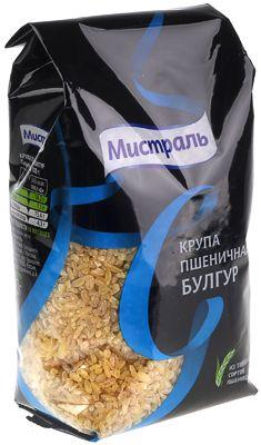 Крупа пшеничная Булгур 500г из твердых сортов пшеницы, Мистраль