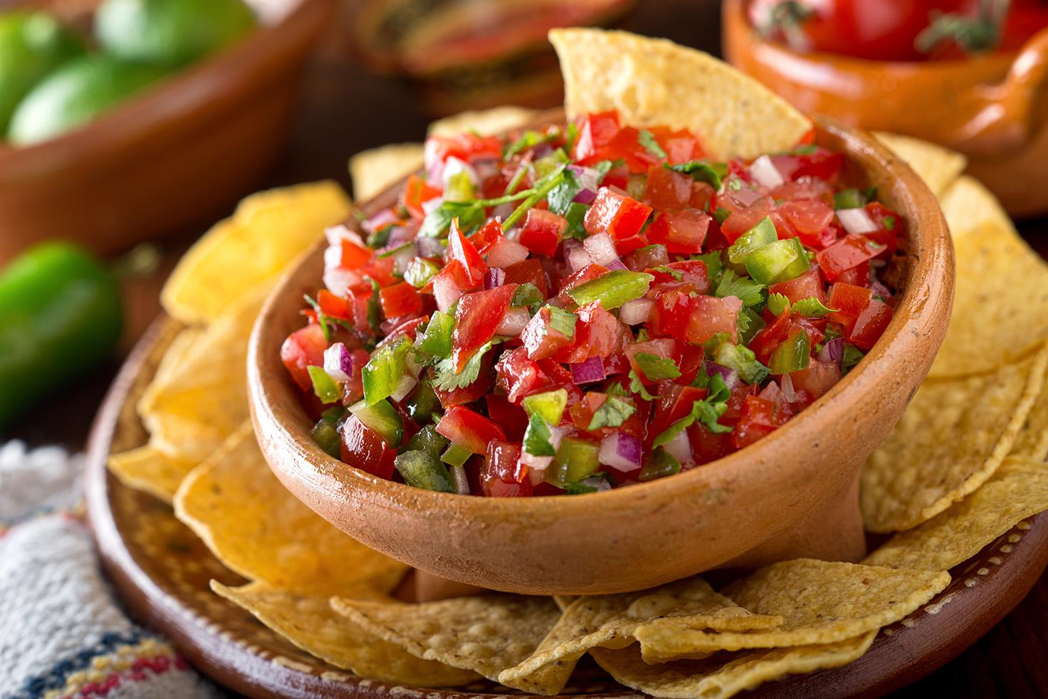 мексиканский соус пико де галло