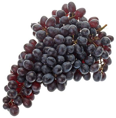 Виноград Кишмиш черный ~500г без косточек, Перу