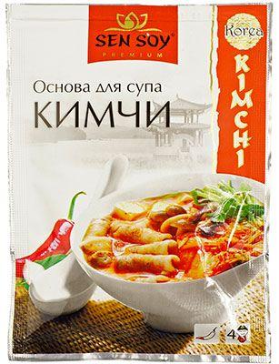 Основа для супа Кимчи 80г приправа для супов и маринования, Сэн Сой Премиум