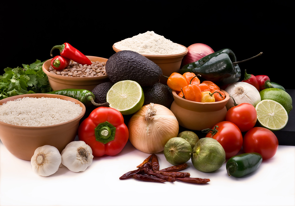 ингредиенты мексиканской кухни