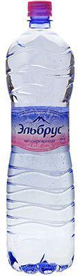 Вода Эльбрус 1,5л негазированная, минеральная, лечебно-столовая