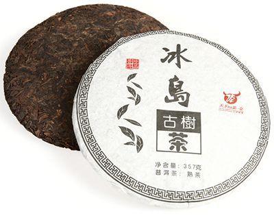 Чай Шу Пуэр Биндао Гушу 357г чай Пуэр, блин. Китай. Дачжай и Синьчжай 2010г