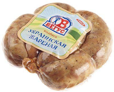 Колбаса Украинская жареная ~ 500г высший сорт, Вегус