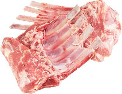 Баранина корейка охлажденная ~500г 2шт * 4 ребра