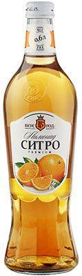 Лимонад Ситро 0,6л сильногазированный, Вкус года premium