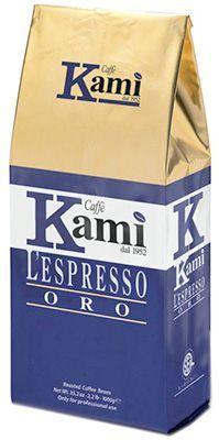 Кофе Ками Оро 1 кг 100% арабика, зерновой, Италия