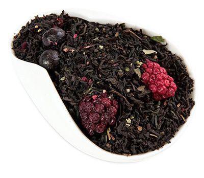 Чай черный Лесные ягоды 100г ароматизированный Premium