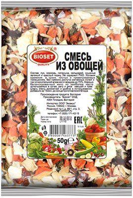 Смесь овощная 50г Болгария