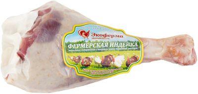 Голень индейки на кости замороженная ~ 450г фермерская, Экоиндейка