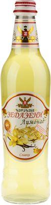 Лимонад Зедазени Сливки 500мл газированный, Грузия