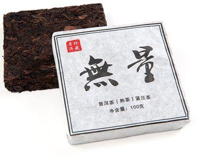 Чай Шу Пуэр Улянь 100г чай Пуэр, кирпич. Китай. Пуэр Диндун 2011г
