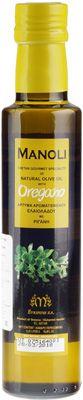 Оливковое масло Орегано 0,25л на травах и специях, Extra Virgin, Manoli