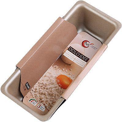 Форма для выпечки пирогов и кексов 27х10см Италия, из алюминия, с антипригарным покрытием IPERTEK