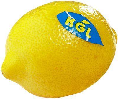Лимон свежий ~500г 3-5шт, Марокко