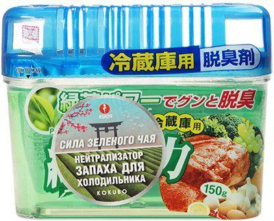 """Поглотитель запаха для холодильника 150г """"Сила зеленого чая"""", KOKUBO, Япония"""