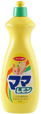 Средство для мытья посуды Mama Lemon 800мл LION, с ароматом лимона