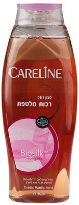 Гель для тела с комплексом Biosilk Экзотическая ваниль 700мл CARELINE, Израиль, гель для душа