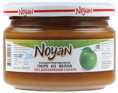 Пюре из яблок 300г натуральный продукт, Армения