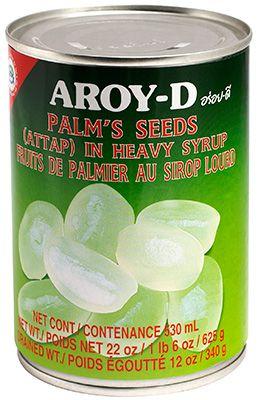 Плоды пальмового дерева 625г в сладком сиропе, AROY-D