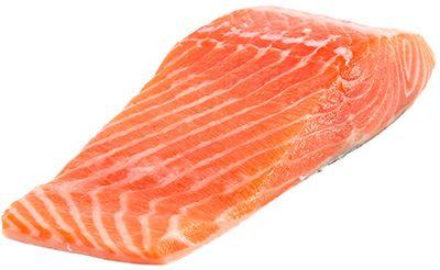 Семга слабосоленая кусок 200г из охлажденной семги, Поедим Рыбки