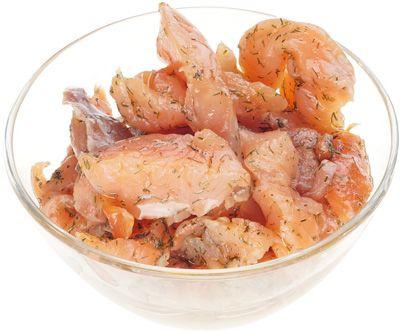 Форель в укропном масле из Карелии 170г пресервы из форели радужной, из охлажденного сырья, ломтики, Карелия