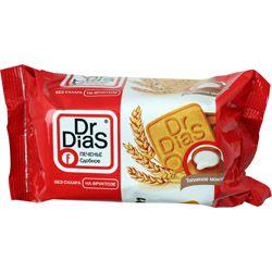 Печенье Топленое Молоко 170г на фруктозе, сдобное, Dr.DiaS