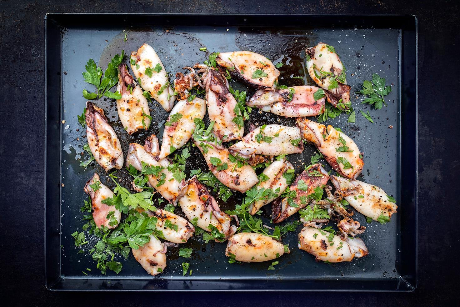 блюда из каракатиц