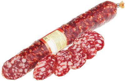 Колбаса Брауншвейгская ~ 400г сырокопченая, высший сорт, Россия