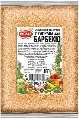 Приправа для барбекю 100г Болгария