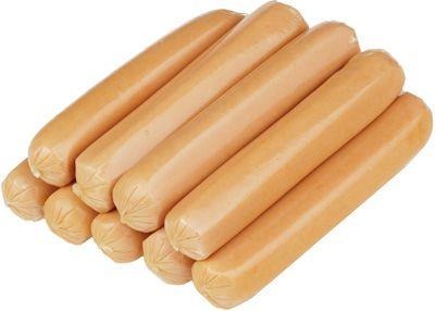Сосиски молочные Эко ~500г охлажденные, без красителей и консервантов, Премиум
