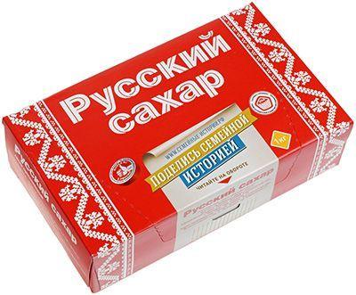 Сахар рафинад Русский сахар 1кг прессованный, Россия