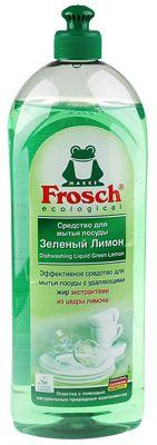 Средство для мытья посуды зеленый лимон 1л ФРОШ, Германия