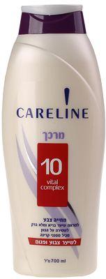 Кондиционер для окрашенных волос с протеином шелка 700мл CARELINE, Израиль