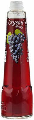 Напиток Crystal Berry Виноград 0,45л среднегазированный, сокосодержащий