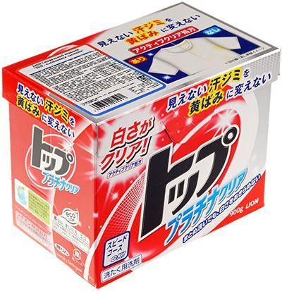 Стиральный порошок Топ-платиновая чистота 900г экологичный, без фосфатов, LION, Япония