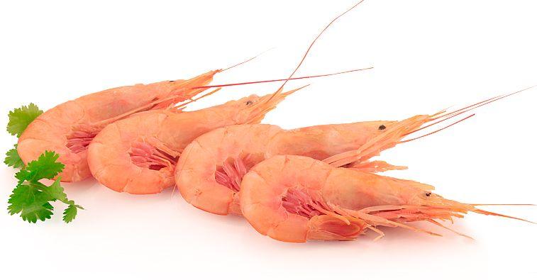 Креветки дикие L2 Аргентина 2кг свежемороженные, 21-30 шт в кг, без глазировки