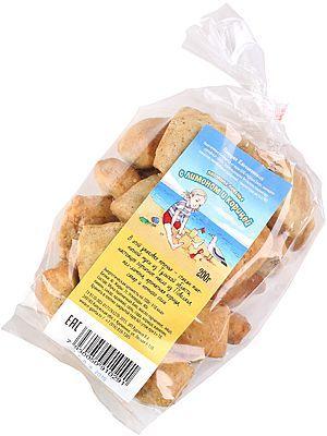 Печенье песочное с лимоном и корицей 200г ручная работа, Пекарня Ельчаниновых
