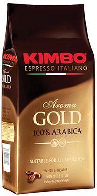 Кофе KIMBO Арома Голд 500г 100% арабика, зерновой, Италия