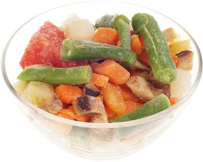 Овощи для жарки 400г быстрозамороженная смесь, ЭКО mix