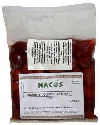 Оливки Каламата 200г бочковой рассол, Jambo, Nacos
