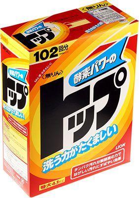 Стиральный порошок Топ-сила ферментов 4100г LION, Япония