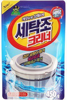 Очиститель для стиральных машин 450г Юж. Корея