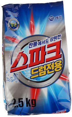 Стиральный порошок Спарк Драм 2,5кг Aekyung, Южная Корея, концентрат, без фосфатов