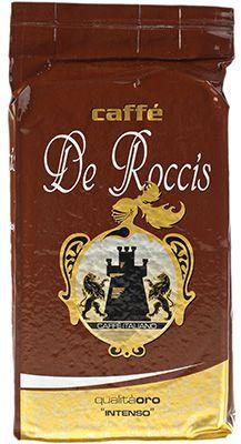 Кофе Де Роччис Куалита Оро 250г 70% арабика, 30% робуста, средней обжарки, Италия
