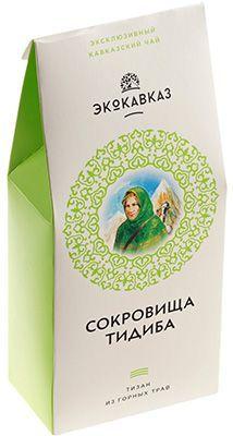 Чайный напиток Сокровища Тидиба 70г тизан из горных трав, ручной сбор, ЭкоКавказ