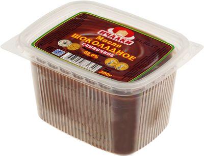Масло шоколадное сливочное 62% жир., 300г Ичалки, ГОСТ