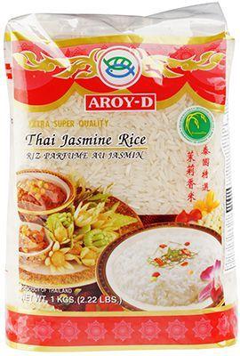 Рис Жасмин белый 1кг длиннозерный, категория А, Тайланд